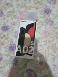 Samsung A02S novos 750!!