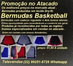 Bermudas Profissional Basketball Diversos tamanhos Cores Atacado promoção
