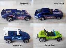 Hot Wheels Lote com 04 miniaturas 1:64
