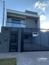 Sobrado com 3 dormitórios para alugar, 171 m² por R$ 3.300/mês - Zona 07 - Maringá/PR