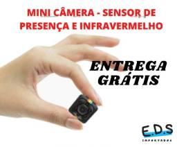 mini câmera filmadora  espiã sq11