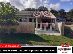 Título do anúncio: Casa de alvenaria na Costeira, em Bal. Barra do Sul - SC.