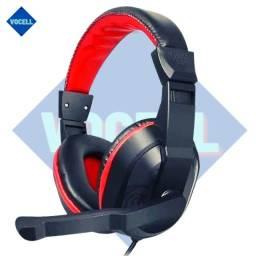 Fone De Ouvido Headset Gamer Com Microfone Skype Celular Ps4