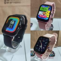 Smartwatch P8 PLUS (Novo modelo)