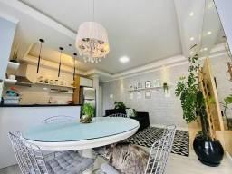 Apartamento com 2 dormitórios à venda, 57 m² por R$ 265.000,00 - Santo Antônio - Joinville
