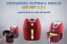 Fritadeira Elétrica Philco na cor Vermelho