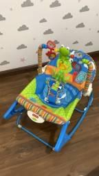 Título do anúncio: Cadeira de Balanço  Sapinho Fisher Price