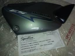Título do anúncio: Carenagem Tampa Lateral Motocicleta Honda CG 125 Titan ES 2002 Prata