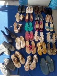 Título do anúncio: Vendo lote de calçados feminino Tam 39