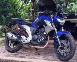 Título do anúncio: Moto Fazer250c/c azul 2020