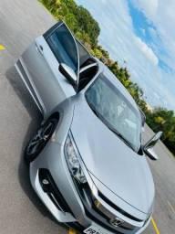 Lindo Honda Civic EX CVT automático único dono