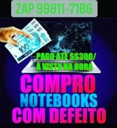Notebook Com Defeito ou Funcionando