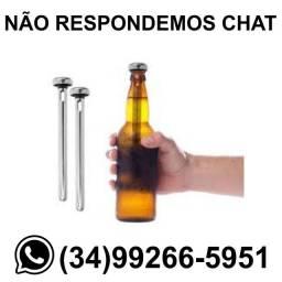 Gela Cerveja Long Neck / Par * Fazemos Entregas