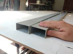 Título do anúncio: Tubo retangular de alumínio