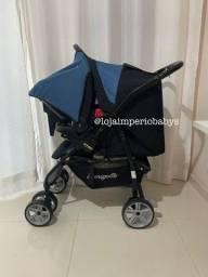 Título do anúncio: Carrinho e bebê conforto  burigotto AT6k