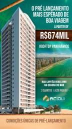 Título do anúncio: Pré-lançamento no Pina | Uma quadra do mar | Apartamentos de 3 Quartos| Obras avançadas