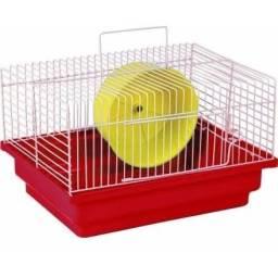 Título do anúncio: Gaiola de Hamster com Rodinha
