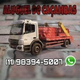 Contrate Caçambas Centro SP