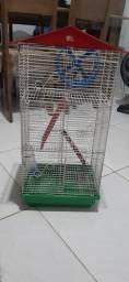 Gaiola 3 andares para hamster chinês completa