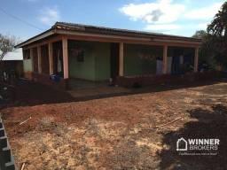 Casa com 2 dormitórios à venda, 70 m² por R$ 100.000,00 - Centro - Luiziana/PR