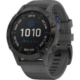 Relogio GPS Garmin Fenix 6 Pro Solar