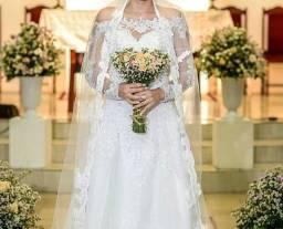 Vestido de noiva para alugar