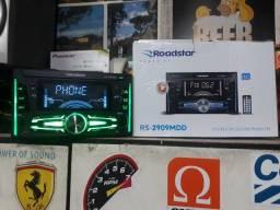 Título do anúncio: Radio 2din Roadstar Bluetooth camaleão