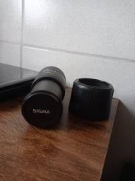 Lente de zoom sigma 70_300mm