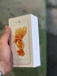 Caixa original completa iPhone 6s rose