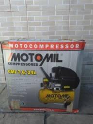 Título do anúncio: Compressor de ar motomil