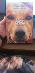 Livro quatro vidas de um cachorro, sem marcas de uso