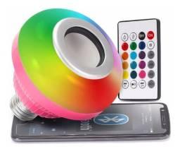 Lampada Som, Bluetooth, Led(Nova).