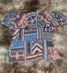 Blusa estampada por 25 reais