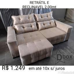 RETRATIL RECLINÁVEL EM PROMOÇÃO DIRETO DA FÁBRICA DBOX