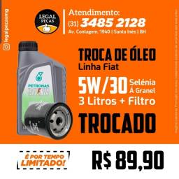 Promoção Troca de Oleo 5W30 Selenia