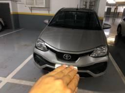 Título do anúncio: Toyota Etios semi novo 1.3X automático