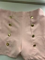 Título do anúncio: Short saia rosa