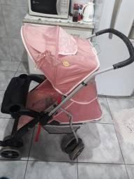 Bebê conforto + Carrinho de bebê menina