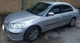 Honda Civic LXL 2006/2006 - Aceita-se CG 150 como parte. Leia o Anúncio.