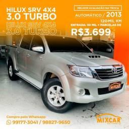 Título do anúncio: Hilux SRV 4x4 3.0 Diesel Turbo ! Imperdível !