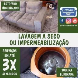 Título do anúncio: Lavagem ou impermeabilização de estofados
