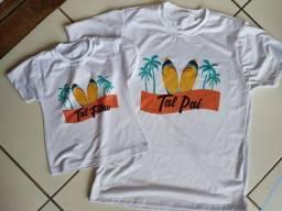 Camisas brancas personalizadas