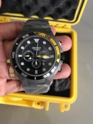 Relógio Orient Seatech solar titânio