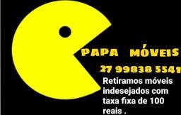 Papa móveis trabalho em Vitória,  vila velha , serra e cariacica