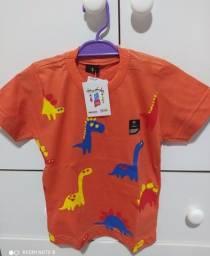 Camisas masculino infantil / Camisa infantil dinossauro