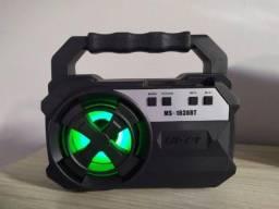 Caixa de som Bluetooth Com entrada USB