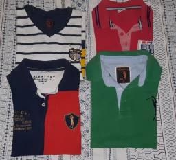 Título do anúncio: Camisas infantis masculinas