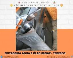 Fritadeira industrial 2 cubas 8000 watts - Tedesco | Matheus