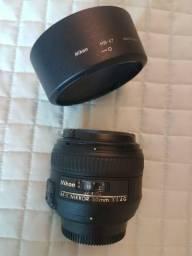 Lente Nikon modelo AF-S Nikkor 50mm