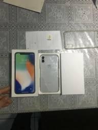 IPhone x 256 GB, ESTÁ na garantia até Junho de 2019, recebi ontem, garantia deu um novo